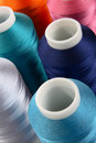 Reels Of Threads Royalty Free Stock Photo - 2397155