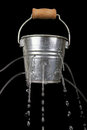 Bucket With Holes Royalty Free Stock Images - 23903479