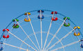 Attraction Ferris Wheel Royalty Free Stock Photo - 23913585
