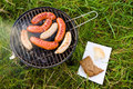 Barbecue On Grass Stock Photo - 23941620