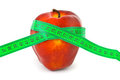 Apple And Measuring Tape Stock Photography - 23943842