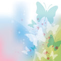 Butterfly Background Stock Photo - 23956330