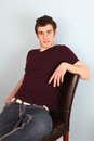 Brunette Male Royalty Free Stock Photo - 23959095
