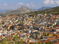 Town In The Mountains Royalty Free Stock Photos - 23962378
