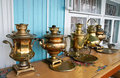 Samovar In The Museum Of Samovars In Gorodets The Royalty Free Stock Photo - 23975155