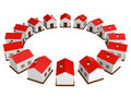 Many Small Houses Stock Images - 23982624