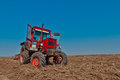 Red Tractor Stock Photos - 23983533
