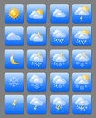 Weather Icons Stock Photography - 23995562