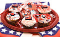 American Cupcakes Royalty Free Stock Photography - 2401397