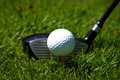 Golf Club And Ball Stock Photos - 2409763