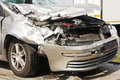 Crashed Car After Accident Royalty Free Stock Photography - 24003787