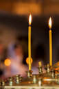 Church Candles Royalty Free Stock Images - 24011559