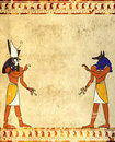 Anubis And Horus Royalty Free Stock Photos - 24018168