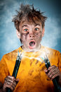 Electric Shock Stock Photo - 24024920