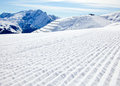 Sunny Piste Stock Images - 24026784