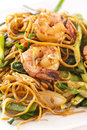 Chinese Fried Noodles Royalty Free Stock Photos - 24056328