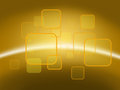Orange And Yellow Background Of Abstract, For Www Stock Photos - 24077773