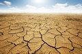 Dried Land With Cracked Ground Royalty Free Stock Photos - 24081968