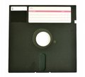 Old Diskette 5 25 Inches Isolated On White Stock Image - 24082871