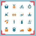 Fitness Icons | In A Frame Series Stock Photography - 24085792