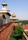 Outside Architecture Of The Red Fort Stock Image - 24093701