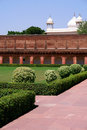 Outside Architecture Of The Red Fort Stock Image - 24093771
