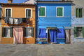 Colorful Burano Italy Walls And Windows Royalty Free Stock Images - 24096199
