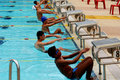 Swimming Competition Royalty Free Stock Photos - 2415708