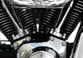Motorcycle Engine Chrome Royalty Free Stock Photography - 2417737