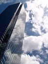 Glass Buliding In The Clouds Royalty Free Stock Photos - 2418938