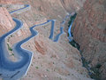 Twisted Road Going In A Canyon Royalty Free Stock Image - 2419146