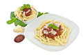 Penne In Bowl And On A Plate With Tomatoe Sauce Stock Photo - 24101110