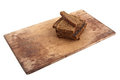 Bread On Cutting Board Stock Images - 24118964