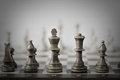 Chess Game Abstract Royalty Free Stock Photo - 24127445