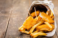 Fish And Chips Stock Image - 24134311