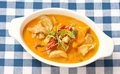 Thai Panang Curry From Top View Royalty Free Stock Image - 24135136