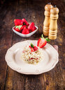 Risotto With Strawberries Stock Photography - 24135332