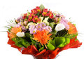Big Bouquet Of Flowers Royalty Free Stock Photo - 24157135