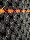 Wire And Mesh Construction Fence. Stock Images - 24172014