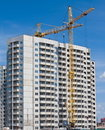 Construction Of Prefabricated Houses. Stock Photos - 24189373