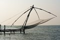 Chinese Fisher Net In Cochin In Kerala, India Stock Images - 24192904