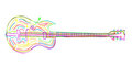 Electric Guitar Sketch Stock Photo - 24199450