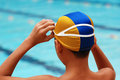 Swimming Competition Royalty Free Stock Photography - 2421787