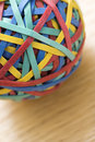 Rubber Band Ball. Stock Photography - 2426172