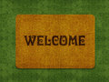 Welcome Doormat Royalty Free Stock Images - 24204349