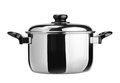 Stainless Steel Cooking Pot Stock Image - 24205641