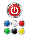 Glossy Buttons Royalty Free Stock Images - 24213199