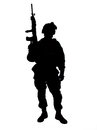 US Soldier Royalty Free Stock Photo - 24217495