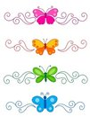 Butterfly Divider Royalty Free Stock Photography - 24222837
