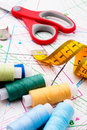 Sewing Items Royalty Free Stock Photo - 24233095